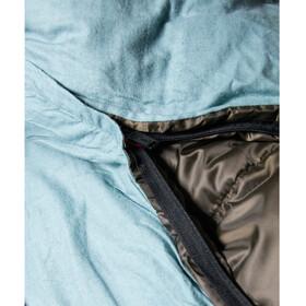Coleman XXL Hudson Slaapzak voor 2 personen 235X150X5cm, chestnut/blue